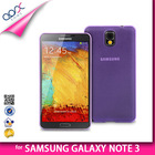 TRANSPARENT BACK COVER FOR SAMSUNG GALAXY NOTE 3 N9000 SOFT PP TPU CASE