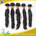 Baratos 100% sin procesar virgen tejer del pelo brasileño tejido mona lisa