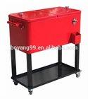 rolling cooler beverage cart