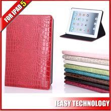 sample order is acceptable rotation leather case for ipad 5
