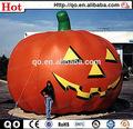 2014 venta caliente curiosas gigante de la decoración de halloween inflable de calabaza