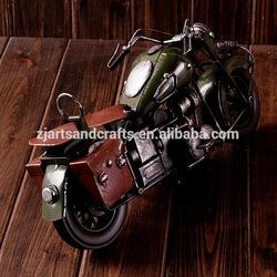 metal craft car model iron motor model for cafe bar decoration
