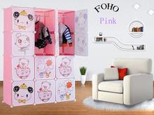 2014 Newest Modern Bedroom Wardrobe for Kids in Cabinet designs