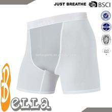 2014 custom design seamless men's jogging underwear blank short sportswear