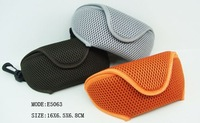 2014 new style sun glasses case fashion soft leather sunglass case,glass case computer