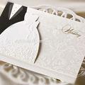 العروس والعريس النماذج فارغة بطاقات دعوة حفل زفاف تصميم بطاقة دعوة بطاقة دعوة