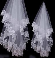 Ve0001 Hot sale long wedding veil arabic wedding veil