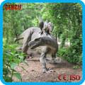 parque de diversões infláveis decoração de dinossauro dos desenhos animados ou fibra de vidro de dinossauro