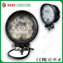 Super bright IP67 4.3'' 10-30V 1890LM epistar trucks circle 27w work led light