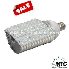 MIC hot-selling E40/ E39/ E27/ E26 base direct replace battery powered led street light bulb