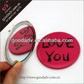 Promoções espelho de bolso espelho de bolso / lembrança / metal craft espelho de bolso