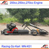 F1 Racing Go karts 270cc Racing Kart with reverse clutch manual gear with bumper