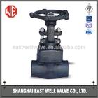 API standard forged steel gate valve female thread valve factory in shanghai