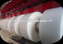 Film slitting machine from big roll to small roll (bopp ,pvc,pe slitter rewinder)