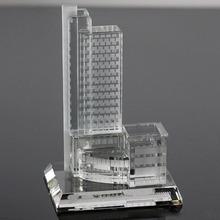 2014 new miniature 3d famous crystal building model
