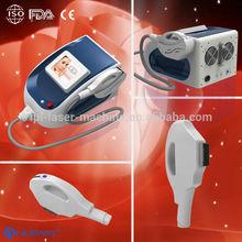 Portable most popular multifunctional three treatment handles for home use ipl remove leg hair machine
