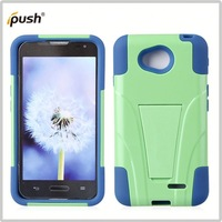 Direct factory price silicon pc combination for lg optimus l70 2 in 1 mesh combo case for lg l70