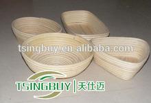 Tsbp- 4 di alta qualità brotform- pane di correzione Basket- cesti di paglia con manici