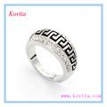 europa de oro blanco anillos de promesa para los hombres y las mujeres