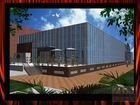 2014 new design Prefab steel construction building