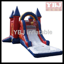 Fairy tales theme inflatable castle/beautiful inflatable water slide castle