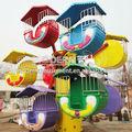 parque de atracciones paseos para niños pequeños rueda de la fortuna