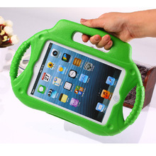 for Apple Ipad Mini 1/2 EVA Cover With Handle Stand Shockproof Protective Cover for Kids