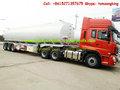 De acero inoxidable del tanque semi- remolque euro- st d furl asme de aceite, super diesel, chorro de al, el queroseno, la gasolina sin plomo, cisterna de agua
