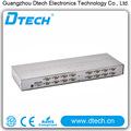 Chaude! Vga splitter 16 ports 1 entrées 16 sortie émetteur de signaux vga 500 mhz fabriqués en chine