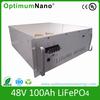 lifepo4 battery pack 48V 100Ah li ion battery pack