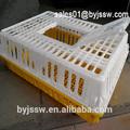 precio competitivo en vivo de las jaulas de pollo para el transporte para la granja