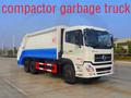 9t capacidade motor 270hp compactador de lixo do caminhão para a venda