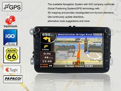 "8""inch special Car DVD for Volkswagen Passat/EOS/CADDY/GOLF/TOURAN/JETTA/POLO,car dvd gps for vw golf 4"