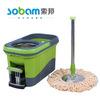 2013 new plastic bucket drain bucket no foot pedal Electric floor mop crystal magic mop