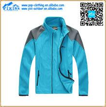 high collar mens wind stop fleece trench coat jacket