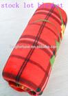 100% polyester polar fleece fabric stocklot blanket