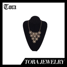 fashion lotus leaf necklace 2014, fashion decoration necklace
