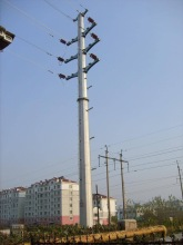 electric wooden poles