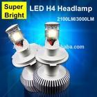 6400lumens High quality lighting Brighter than hid headlights 9004 9007 H13 18W Hi/Low beam led headlights bulb h4