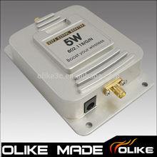 Wireless-N Wifi Booster Signal Amplifier Wifi Repeater 802.11B/G/N 5W 2.4G 37DB Broadband Amplifiers