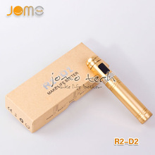 New products 2014 Original JOMO R2-D2 e cig battery mod airflow adjustable OLED display show voltage/wattage/resistance