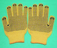 industrial cotton gloves grip dots working gloves