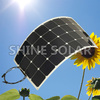 80W/90W/100W/110W/120W Sunpower USA Semi Flexible Solar Panel made in China for European