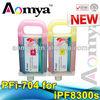 PFI-704 ink cartridge refill for Canon iPF8300 IPF8300S