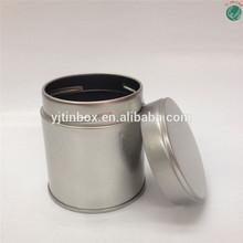 Matcha milk tea powder round empty tin cans