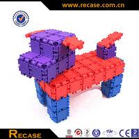 Hot Sale Plastic Building Block, Enlighten Toy Bricks