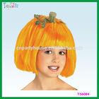 Good Sales Funny Halloween Orange Wig for Children