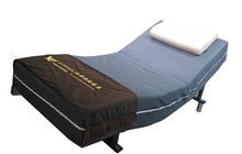 Adjustable Electric Quality Timber Bed with Mattress