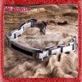 Anti- radiación pulseras de alta calidad tejido joyas pulseras de cuero