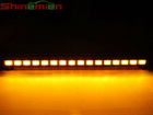 New 36 inches 8 Modules 48 LED Emergency Directional Light Bar (Amber)